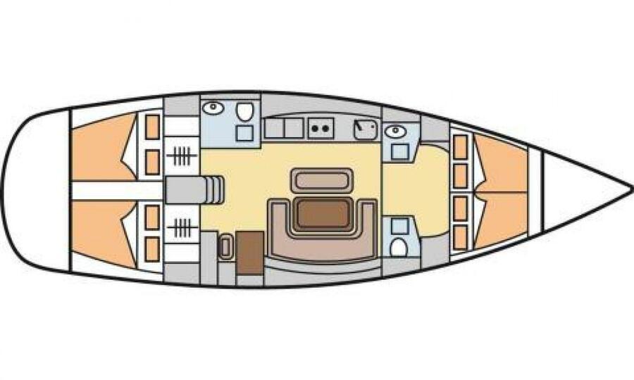 Dufour 455 Grand Large (Capriccios)  - 17