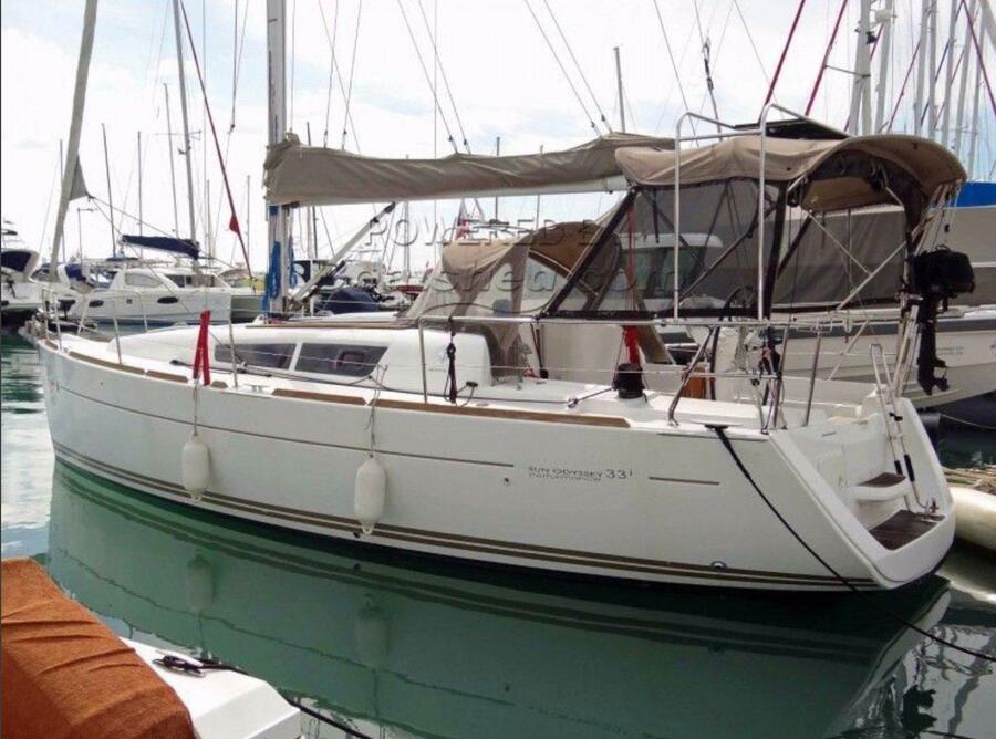 Jeanneau Sun Odyssey 33i (Aqua)  - 2