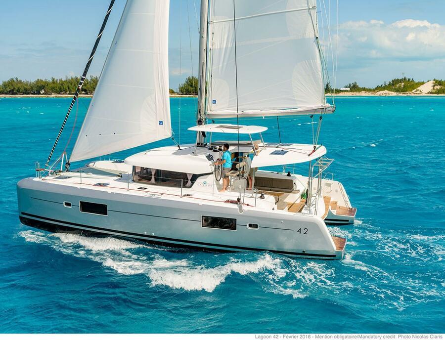 New Lagoon 42 Premium // With Watermaker (Corossol)  - 1