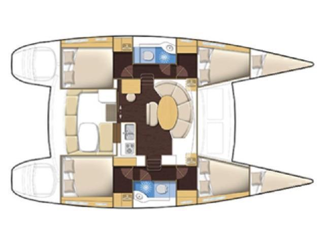 LAGOON 380S2 (GOA 3)  - 3