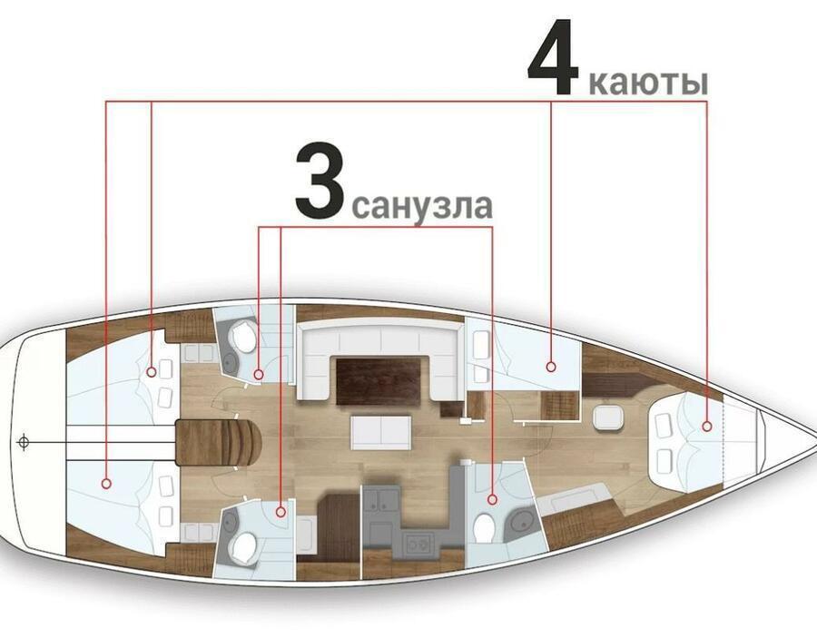 Bavaria 50 Cruiser (BELLE AVENTURE)  - 1