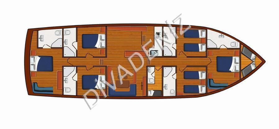 Motor Sailor (Diva Deniz)  - 22
