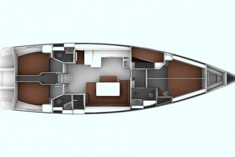 Bavaria 51 Cruiser (Philoctetes)  - 3