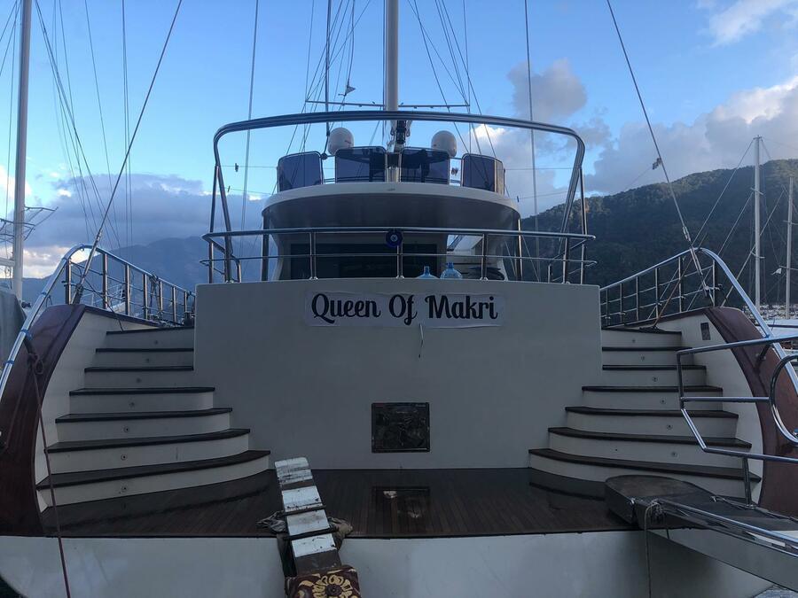 Motor Sailer (Queen of Makri)  - 7