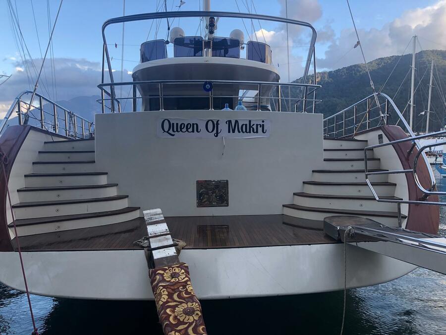 Motor Sailer (Queen of Makri)  - 13