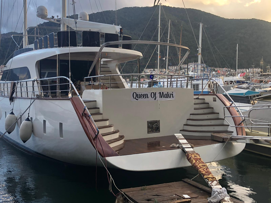 Motor Sailer (Queen of Makri)  - 23