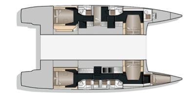 Nautitech 542 (FILOSOF LGM)  - 2