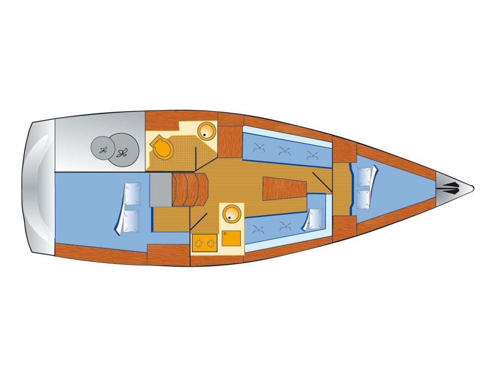 Bavaria Cruiser 33 (Chili) Plan image - 14