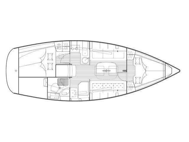 Bavaria 31 (Pegasus) Plan image - 11
