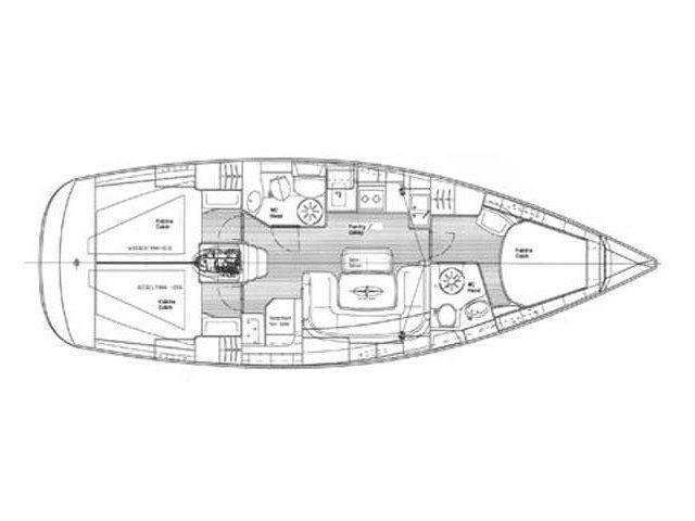 Bavaria 39 Cruiser (Marja) Plan image - 10