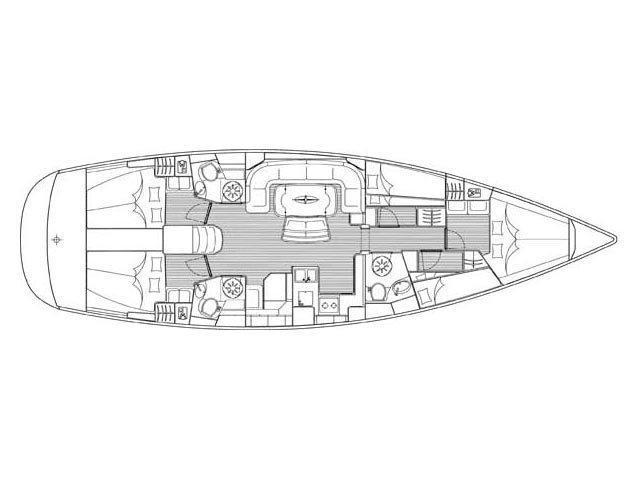 Bavaria 50 Cruiser/4cbs (EC- 504-06-G) Plan image - 1