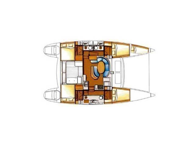 Lagoon 410 S2 (Vega) Plan image - 20