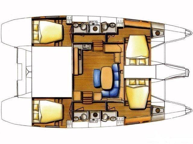Lagoon 420 (Igris) Plan image - 12