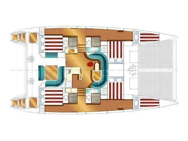 Nautitech 47 (Kassiopeia) Plan image - 3