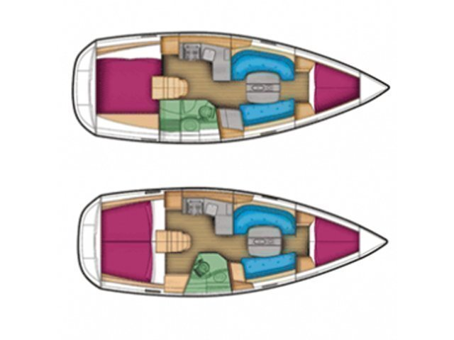 Sun Odyssey 509 (Rock Point) Plan image - 25
