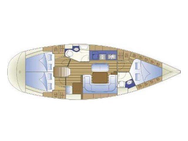 Bavaria 41 Cruiser (Erato) Plan image - 3