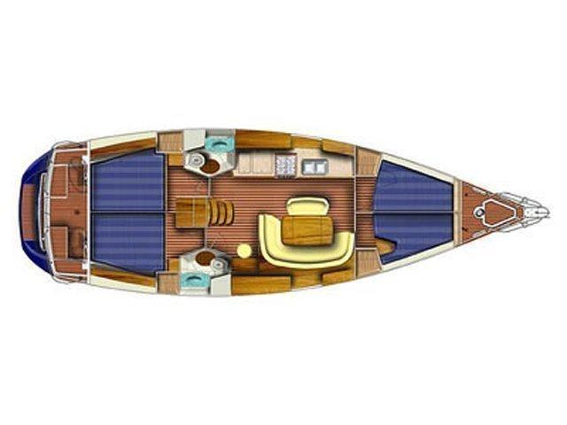 Sun Odyssey 45 (Safina) Plan image - 8