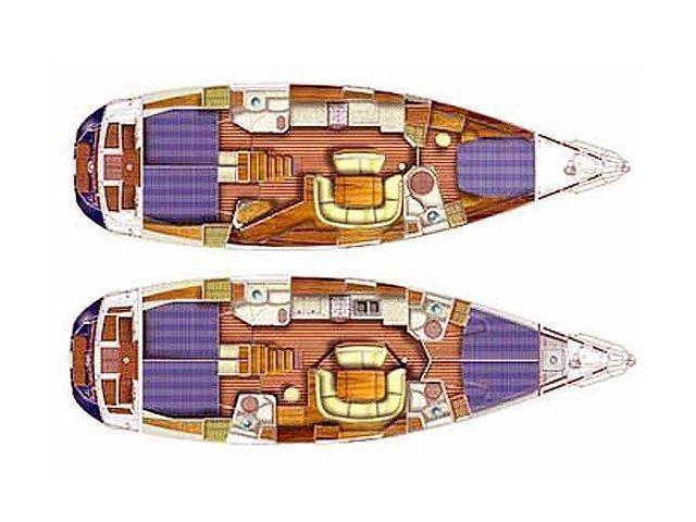 Sun Odyssey 49DS (Idrea) Plan image - 10