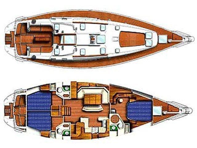 Sun Odyssey 52.2 (Creole Love) Plan image - 2