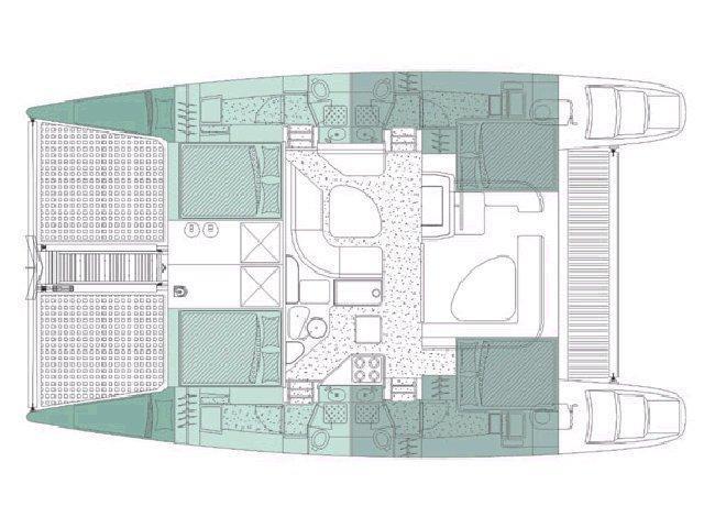 Voyage 440 (Alboran Mahanga (Majorca)) Plan image - 1