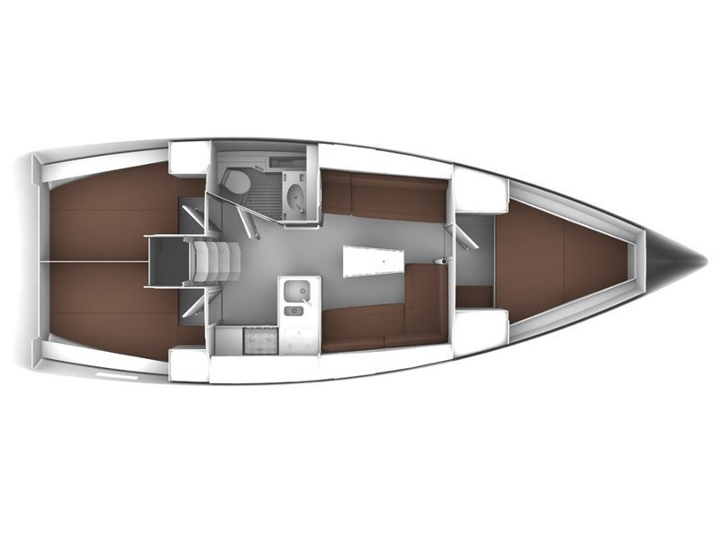 Bavaria Cruiser 37 6 (Chilly Lilly) Plan image - 12