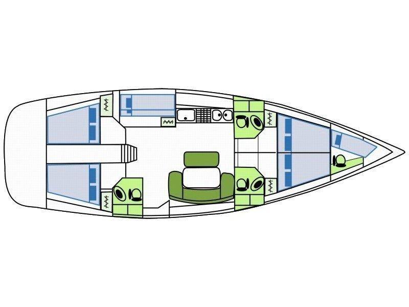 Cyclades 50.5 (Pinta) Plan image - 27
