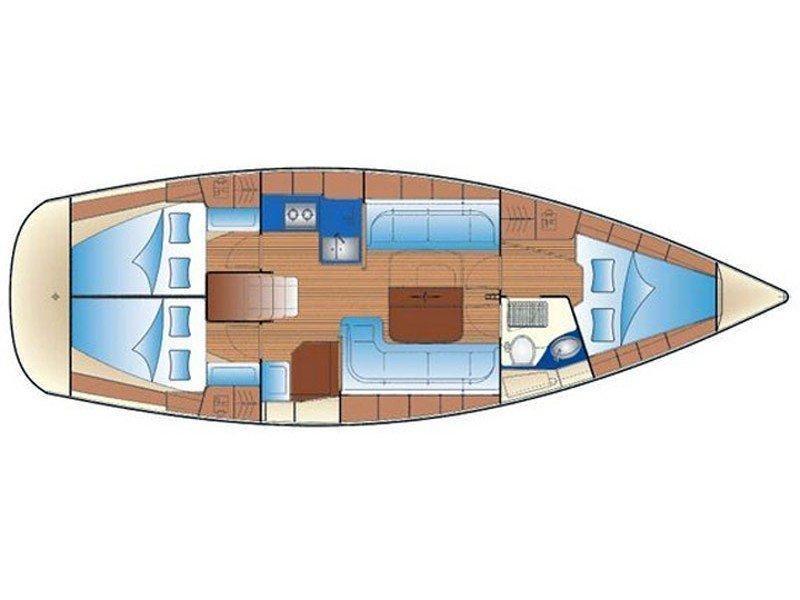 Bavaria 37 Cruiser (Mare) Plan image - 18