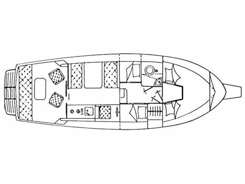 Adria 28 Luxus (Ana) Plan image - 1