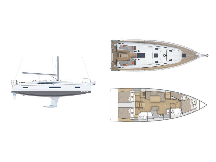 Oceanis 40.1 (Aria) Plan image - 3