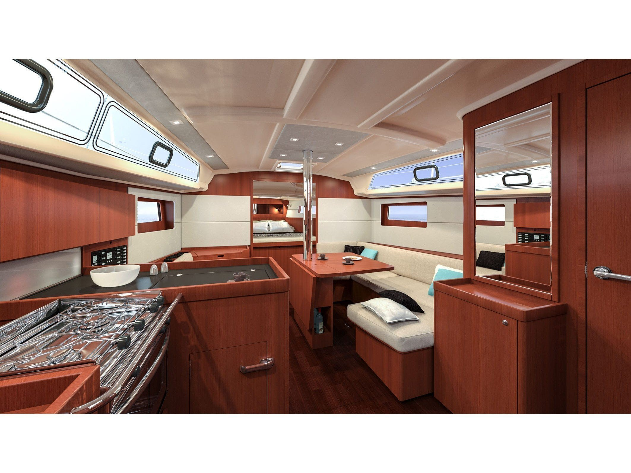 Oceanis 41.1 (WHITE BIRD) Interior image - 10