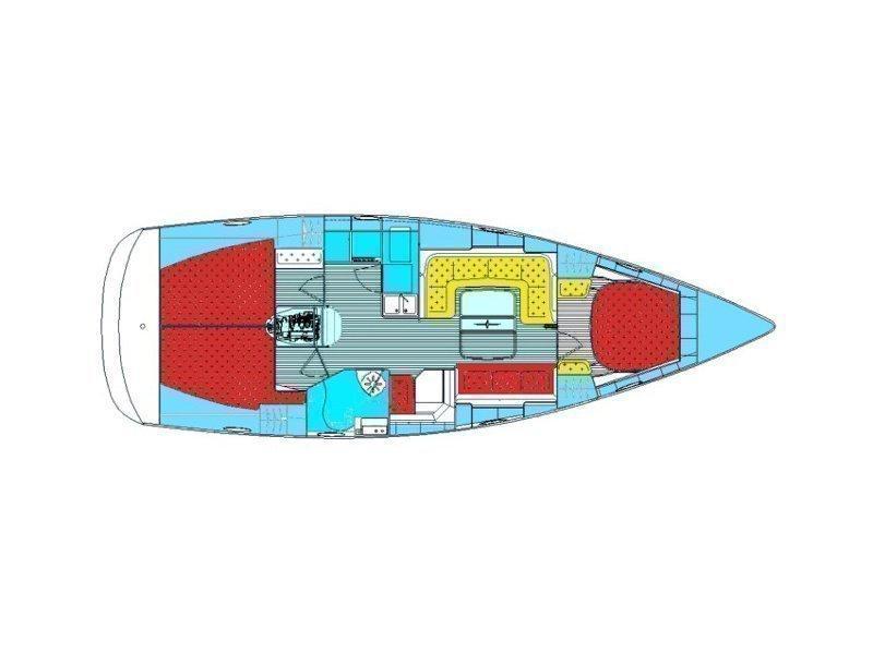 BAVARIA 40 Vision BT (IDASSA) Plan image - 6