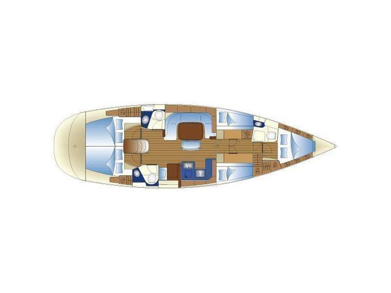 BAVARIA 49 BT (DALMACIJA) Plan image - 6