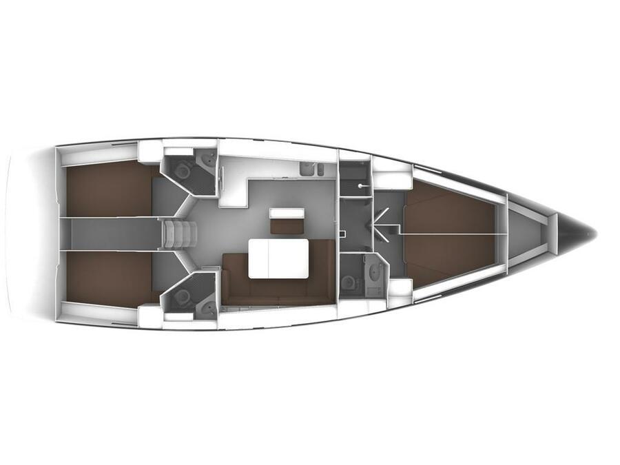 Bavaria Cruiser 46 (AVANTIME) Plan image - 2