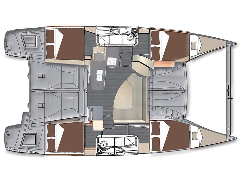 Lipari 41 (4 dbl, 2sgl) (Marisol) Plan image - 1