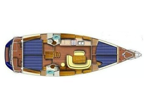 Sun Odyssey 45.1 (Andrea) Plan image - 4