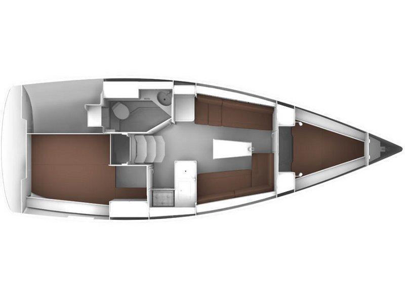 Bavaria Cruiser 33 (Callisto ) Plan image - 12