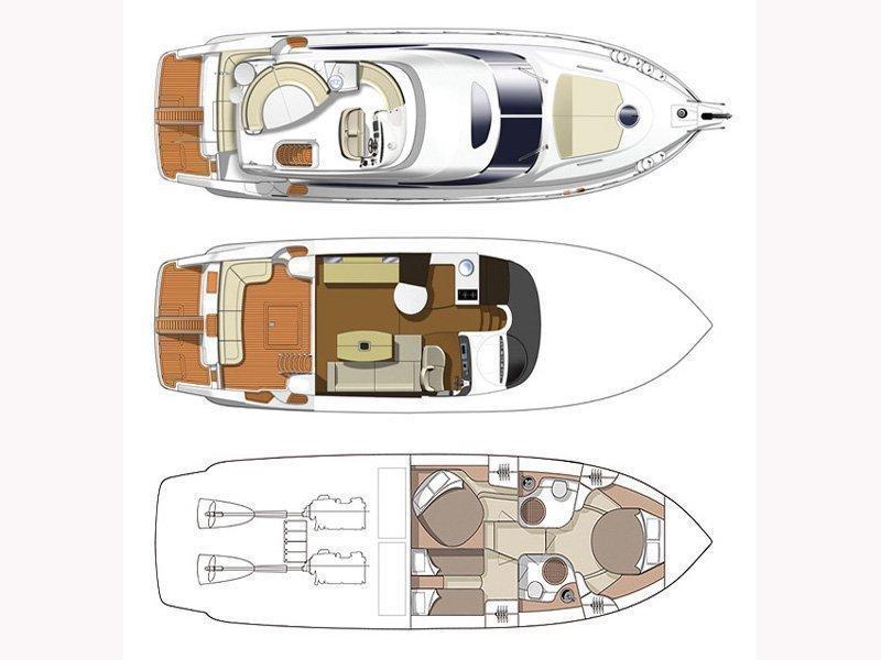 Cranchi Atlantique 50 (Jackals) Plan image - 6