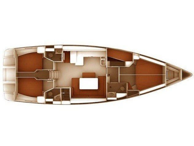 Bavaria Cruiser 51 (Locura) Plan image - 2