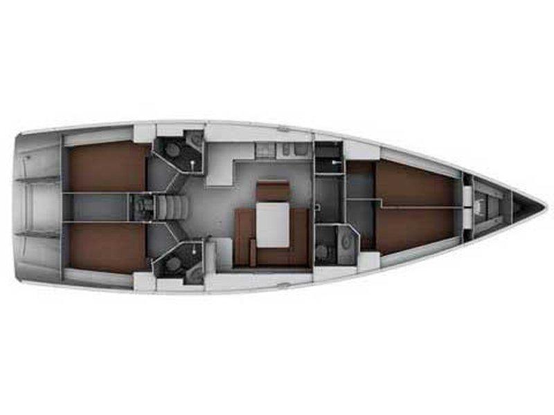 Bavaria Cruiser 45  (Albatros) Plan image - 3