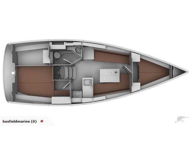 Bavaria 32 Cruiser (Sonia) Plan image - 2