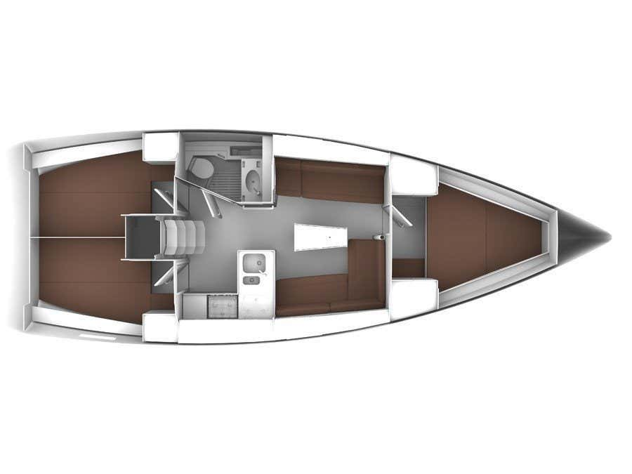 Bavaria Cruiser 37 (TAKIS II) Plan image - 9