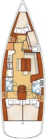 Beneteau Oceanis 43 (Mataa) Plan image - 3