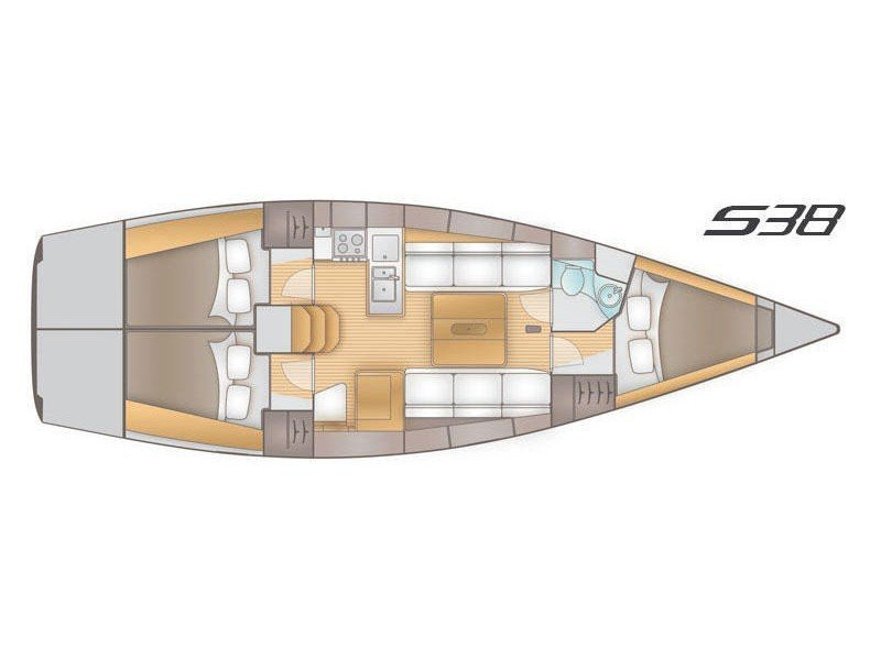 Salona 38 (Olynthia) Plan image - 4
