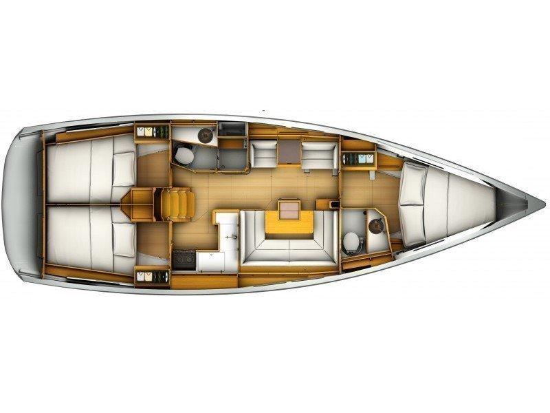 Sun Odyssey 409 (Tina) Plan image - 2