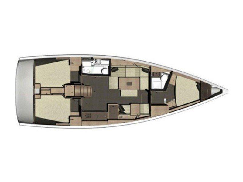 Dufour 412 Grandlarge (Bety) Plan image - 9