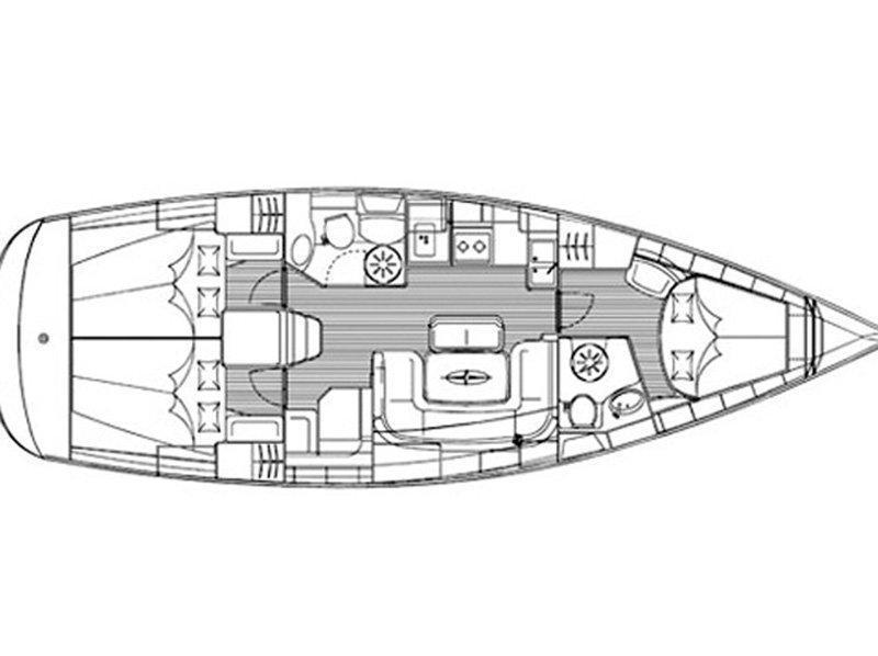 Bavaria 39 Cruiser (Ira) Plan image - 13