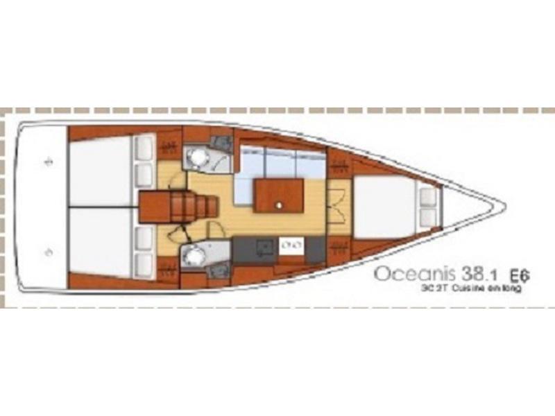 Oceanis 38.1 (2017) (CVITA) Plan image - 7