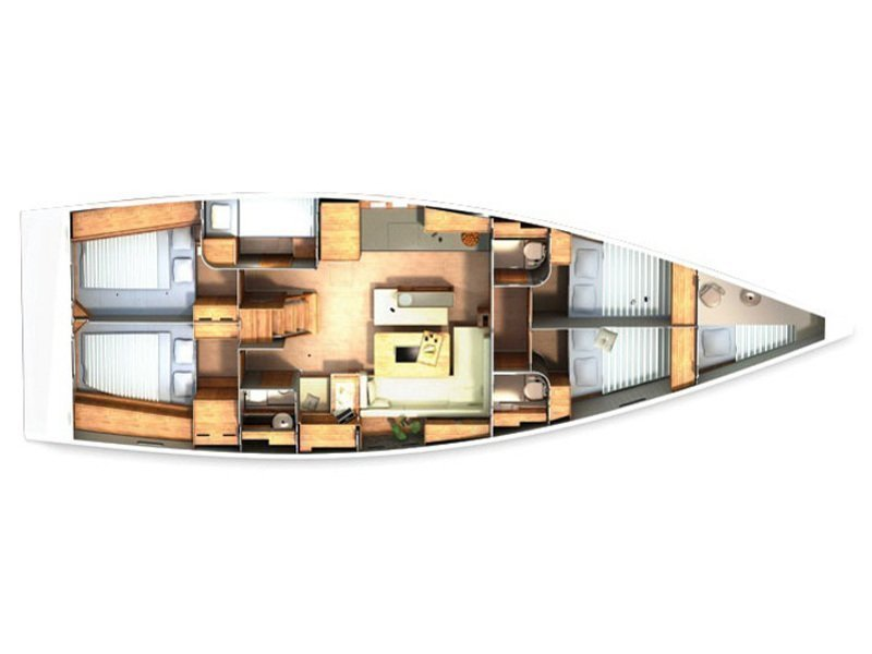 Hanse 505 (Simone) Plan image - 7