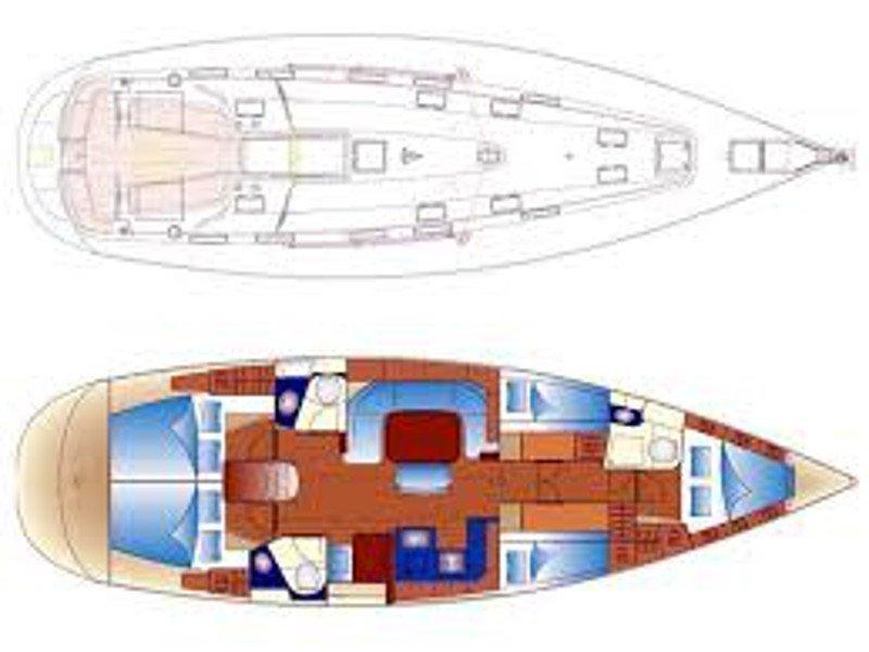 Bavaria 49 (Margeo IV) Plan image - 2