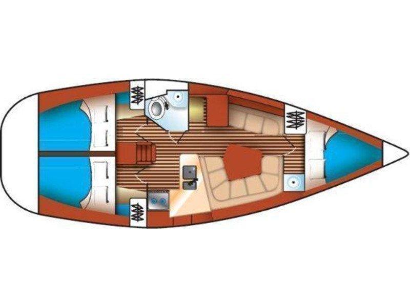 Jeanneau Sun Odyssey 36.2 (Xristina) Plan image - 7